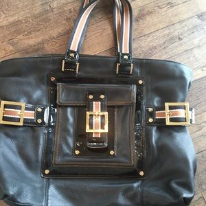 Tory Burch Heavy Leather Tote